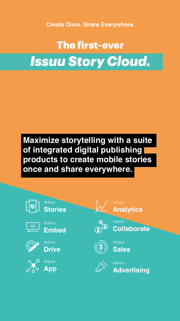 Issuu Story Cloud