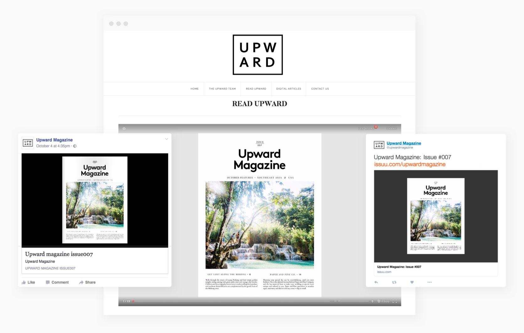 Digital Publishing Platform for Magazines, Catalogs, and